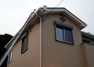住宅情報館施工事例(地デジ2階壁面:44000円)